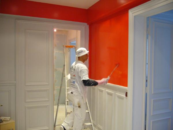 travaux de peinture marignane entreprise de b timent. Black Bedroom Furniture Sets. Home Design Ideas